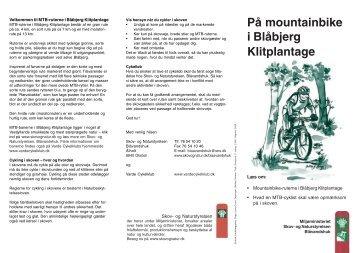 På mountainbike i Blåbjerg Klitplantage - Naturstyrelsen