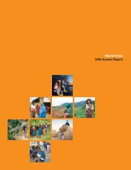 World Vision 2005 Annual Report - GiveWell