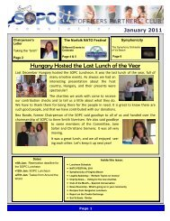 January 2011 Newsletter - Sopc.us