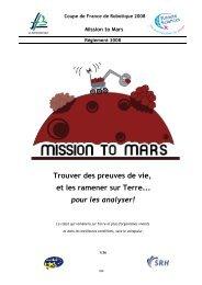 Mission to Mars - Pages de Michel Deloizy