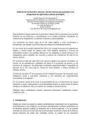 Historia de los huertos urbanos. De los huertos - Universidad ...
