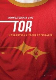 Spring 2012 Tor Frontlist Catalogue (PDF) - Raincoast Books