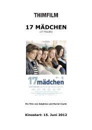 17 Maedchen - Thimfilm