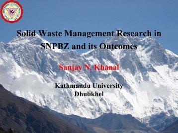 Solidwaste - Kathmandu University