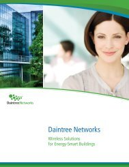 to view this brochure from Daintree Networks - NFMT