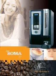 Roma Brochure - Pioneer Vending