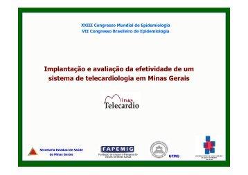Implantação e avaliação da efetividade de um sistema de ... - Epi2008