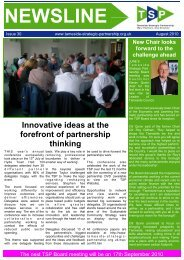 Newsline - Issue 30 - Tameside Strategic Partnership