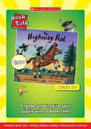 Book Talk - The Highway Rat - Scholastic