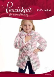 Kid's Jacket - Passioknit Knitting :: Patterns, Yarns and Needles