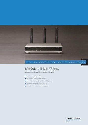 Datasheet - LANCOM Systems