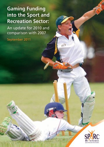 Gaming Funding into the Sport and Recreation Sector: An update for ...