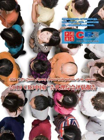 2010 CR3中国广告代理综合评估报告