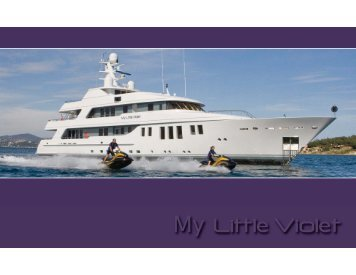 My Little Violet - Paradise Yacht Charters