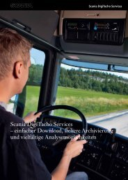 Scania DigiTacho Services – einfacher Download, sichere ...