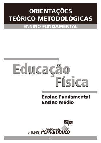 Educação Física - Secretaria de Educação de Pernambuco