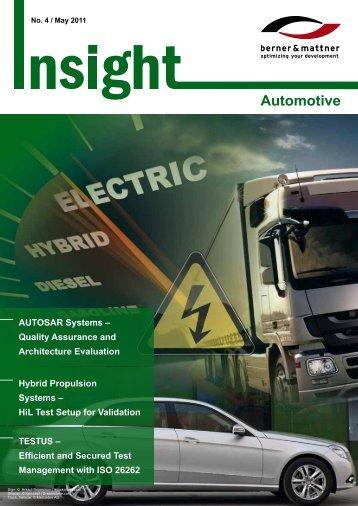 4th Newsletter 'Insight Automotive' (pdf 1,6 MB - Berner & Mattner