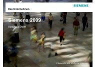 Siemens 2009