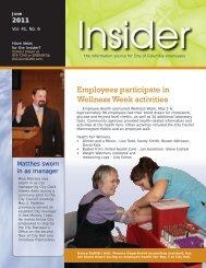 Employees participate in Wellness Week activities - City of Columbia ...