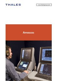 Amascos - Thales Group