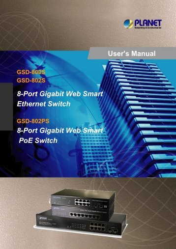 GSD-802PS Users Manual - Planet