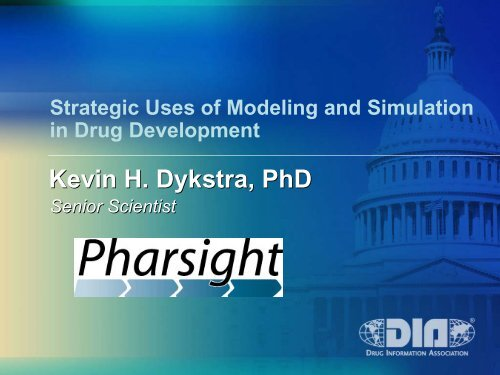 Strategic Uses of Modeling and Simulation in Drug Development