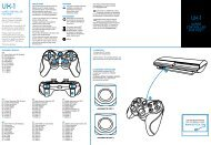 WIRED CONTROLLER FOR PS3™ - Gioteck