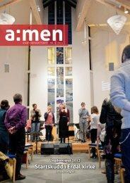 Du kan lese det her - kirken på Askøy