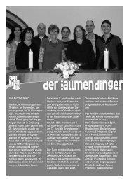 Ausgabe vom Dezember 2010 - Allmendingen-Thun