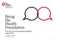 Tone of voice guidelines.pdf - Health Foundation