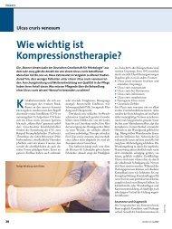 Wie wichtig ist Kompressionstherapie? - Werner Sellmer