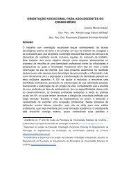 orientação vocacional para adolescentes do ensino médio - UniFil