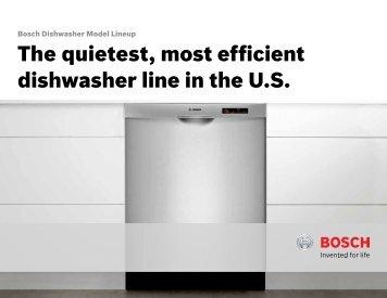 Bosch Dishwasher Model Lineup - Amazon S3
