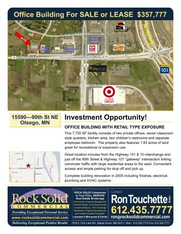 sale and lease info... - Rock Solid Companies