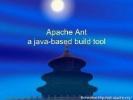 Apache Ant a java-based build tool