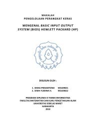 BIOS HP - Blog untuk staff dan dosen d3ti mipa uns