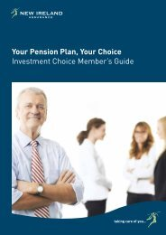 Investment Choice brochure - New Ireland Assurance