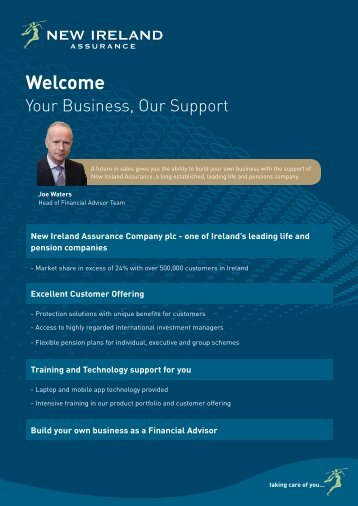 Our Customer Offering - New Ireland Assurance