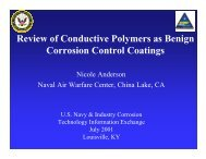 Review of Conductive Polymers as Benign Corrosion ... - NST Center