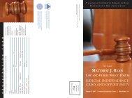 matthew j. ryan law and public policy forum - Pennsylvania Bar ...