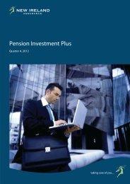 Quarter 4, 2012 - Pension Investment Plus - New Ireland Assurance