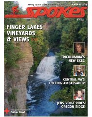 in this current issue - Spokes Magazine