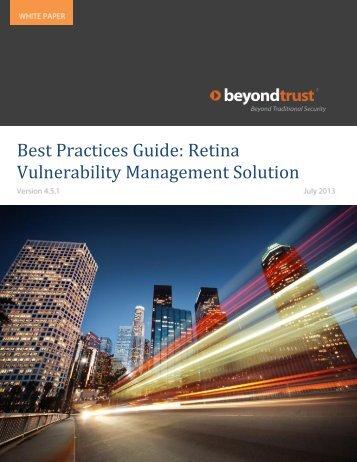 Best Practices - eEye Digital Security