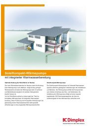 Sole/Kompakt-Wärmepumpe - der Georg Eickholt Elektro Gmbh