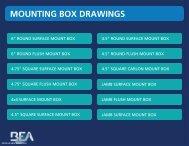 Product Drawings - B.E.A., Inc.