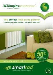 The perfect heat pump partner - Dimplex
