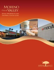 Retail Guide - City of Moreno Valley