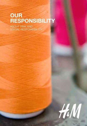 Our respOnsibility - H&M.com