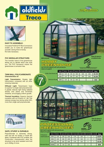professional greenhouses hobby greenhouse - Cyclad Buildings
