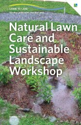 Natural Lawn Care and Sustainable Landscape Workshop